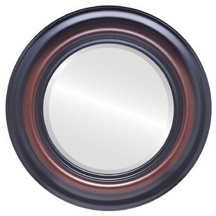 Woking Framed Round Accent Mirror by Charlton Home
