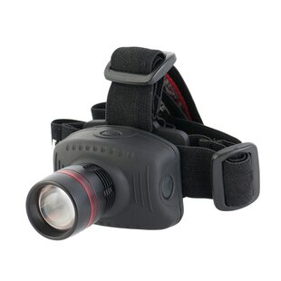 Pinkard Black Battery Powered LED Outdoor Headlamp By Sol 72 Outdoor