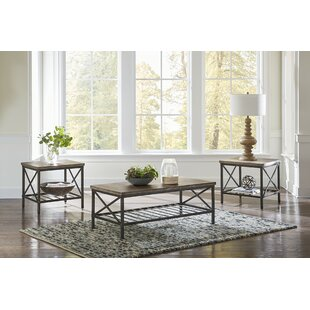 Metrodora 3 Piece Coffee Table Set by Williston Forge