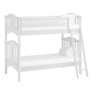 Modern Twin Futon Bunk Bed by Harriet Bee