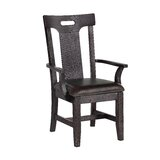 Lewin 21 W Faux Leather Armchair (Set of 2) by Millwood Pines