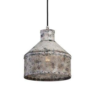Williston Forge Case Rustic 1 -Light LED Dome Pendant