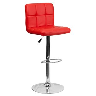 Hirano Adjustable Height Swivel Bar Stool