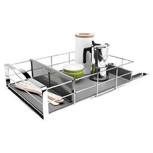 simplehuman 14 inch Pull-Out Cabinet Organizer, Heavy-Gauge Steel
