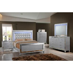 Regents Sleigh 4 Piece Bedroom Set by Willa Arlo Interiors