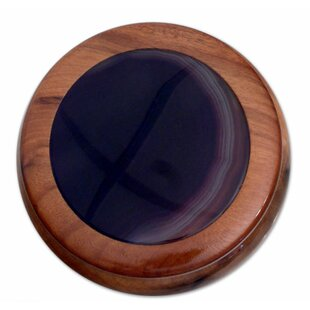 Buy luxury Artisan Crafted Agate Jewelry Box By Novica
