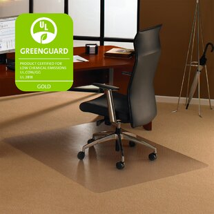 Rectangular Clear Pvc Chair Mat For Hard Floors Transparent Hard Floor Protector With Non-studded Bottom Home Office Study Decor Smoothing Circulation And Stopping Pains Furniture
