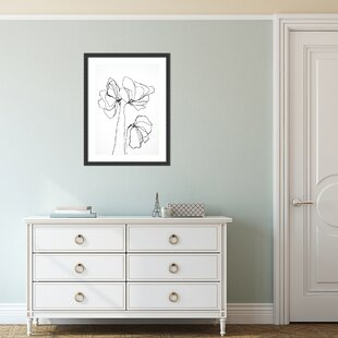 Modern Contemporary Lotus Flower Wall Art Allmodern