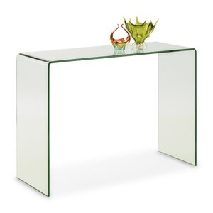 Praiano Bent Glass Console Table