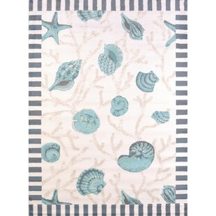 Find for Regional Concepts Shells Blue Area Rug ByUnited Weavers of America