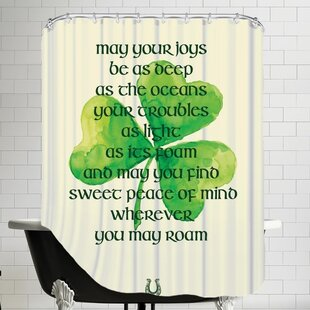 St. Patrick's Day Single Shower Curtain