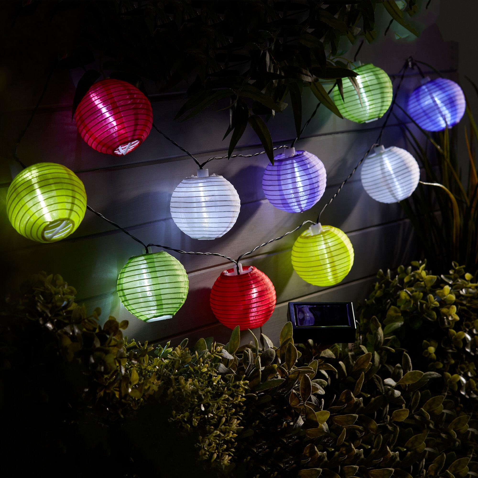 Dakota Fields Tedford Chinese Lantern Lights Wayfair Co Uk