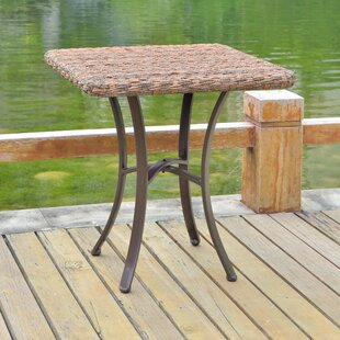 Winston Porter Phillip Wicker Dining Table