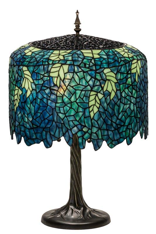 Meyda tiffany wisteria tiffany 28 table lamp reviews wayfair wisteria tiffany 28 table lamp aloadofball Gallery