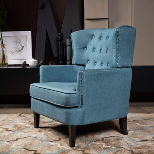 Find a Gustavo Wingback Chair By Alcott Hill