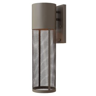 Reviews Proulx 1-Light Outdoor Sconce By Brayden Studio