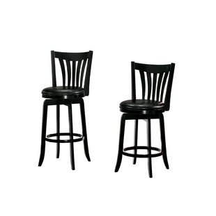 Compare Arguello 2 Piece Swivel Bar Stool Set by Winston Porter Reviews (2019) & Buyer's Guide