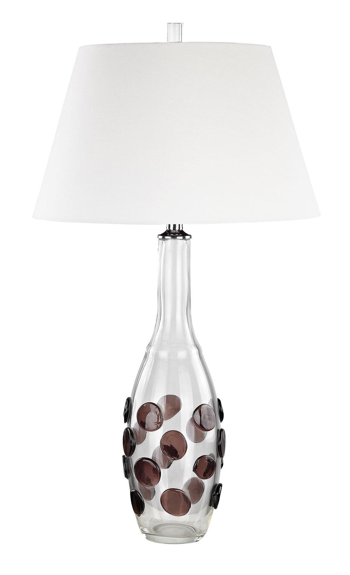 Latitude Run Carmen 30 Clear Table Lamp Reviews Wayfair