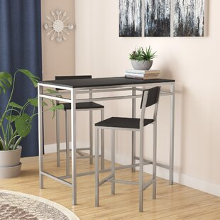 Ransom 3 Piece Pub Table Set Latitude Run