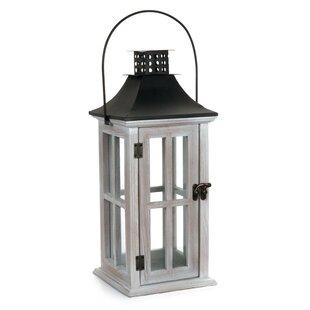 Highland Dunes Wood Lantern