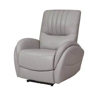 Wieland Leather Power Recliner by Red Barrel Studio SKU:DB888079 Purchase