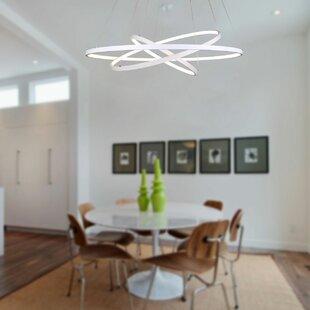 Orren Ellis Derrow 3-Light LED Chandelier