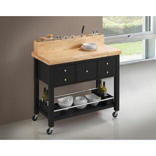 Trabelsi Kitchen Cart by Red Barrel Studio