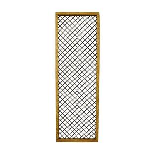 Mariam Wood Lattice Panel Trellis (Set Of 3) By Sol 72 Outdoor