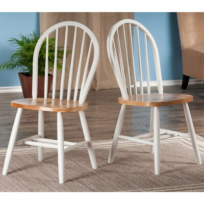 chair dining. save to idea board. white windsor solid wood dining chair