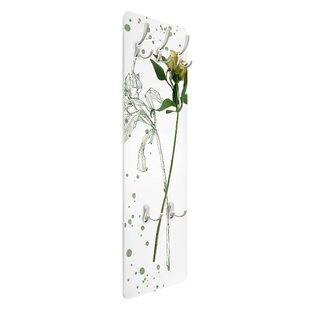 Lily Wall Mounted Coat Rack By Symple Stuff
