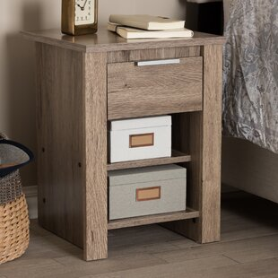 Union Rustic Tellier 1 Drawer Nightstand