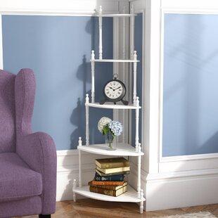 Charlton Home Ogden Corner Unit Bookcase