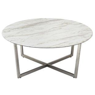 Lifthrasir Cross Legs Coffee Table By Wrought Studio