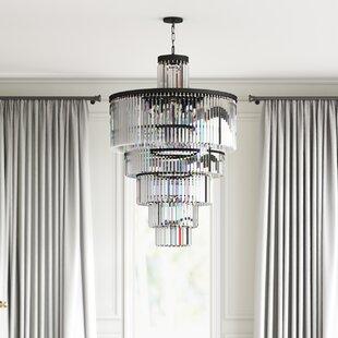 Affordable Gordonsville 13-Light LED Crystal Chandelier By Greyleigh