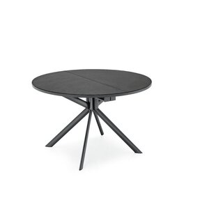 Best Reviews Meadowbrook Round Extendable Dining Table By Orren Ellis