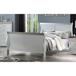 Boxborough King Solid Wood Sleigh Bed