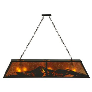 Mountain Range 9-Light Pendant by Meyda Tiffany