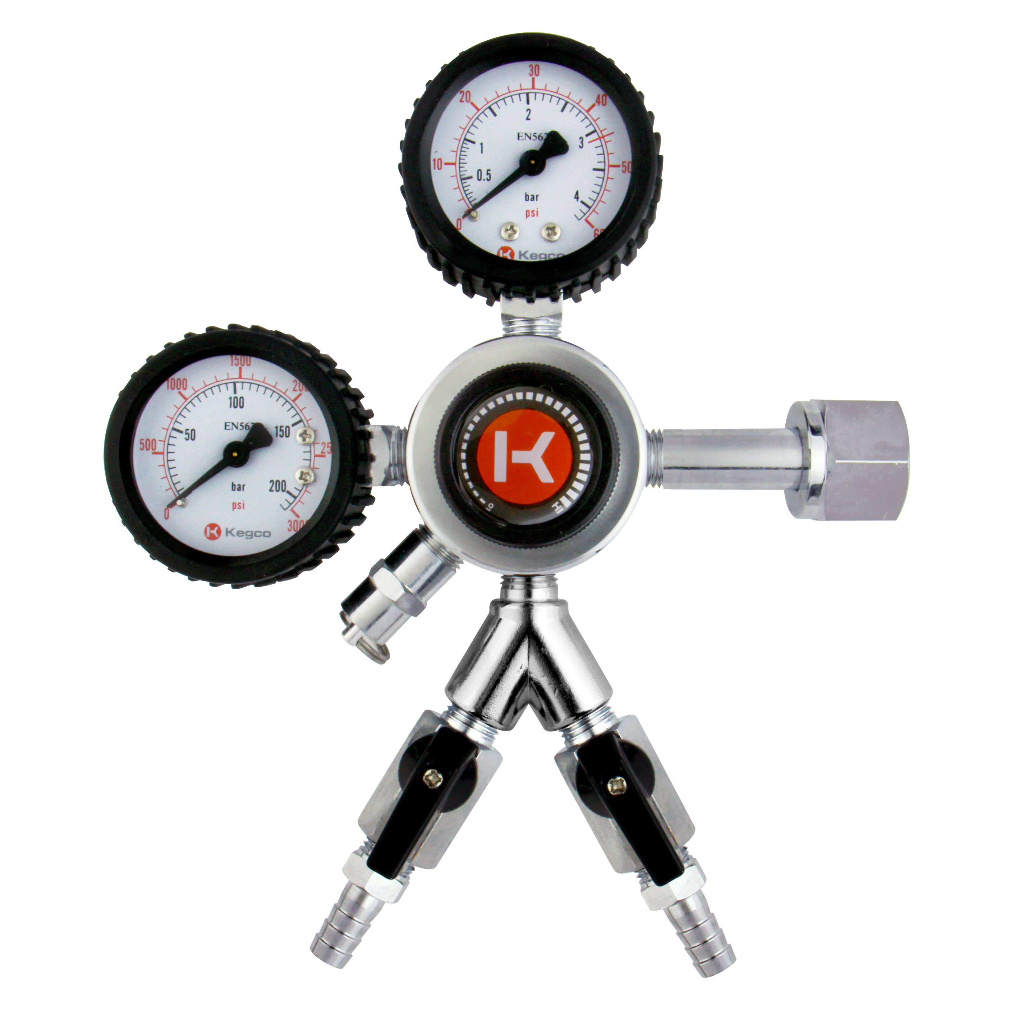 Kegco Two Product Dual Tap Full Size Kegerator