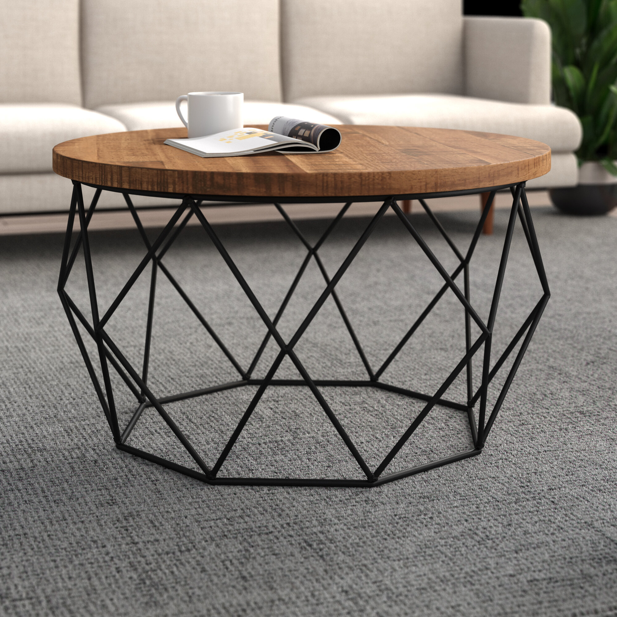 Origami Coffee Table in 2020 | Coffee table, Marble coffee table ... | 2000x2000