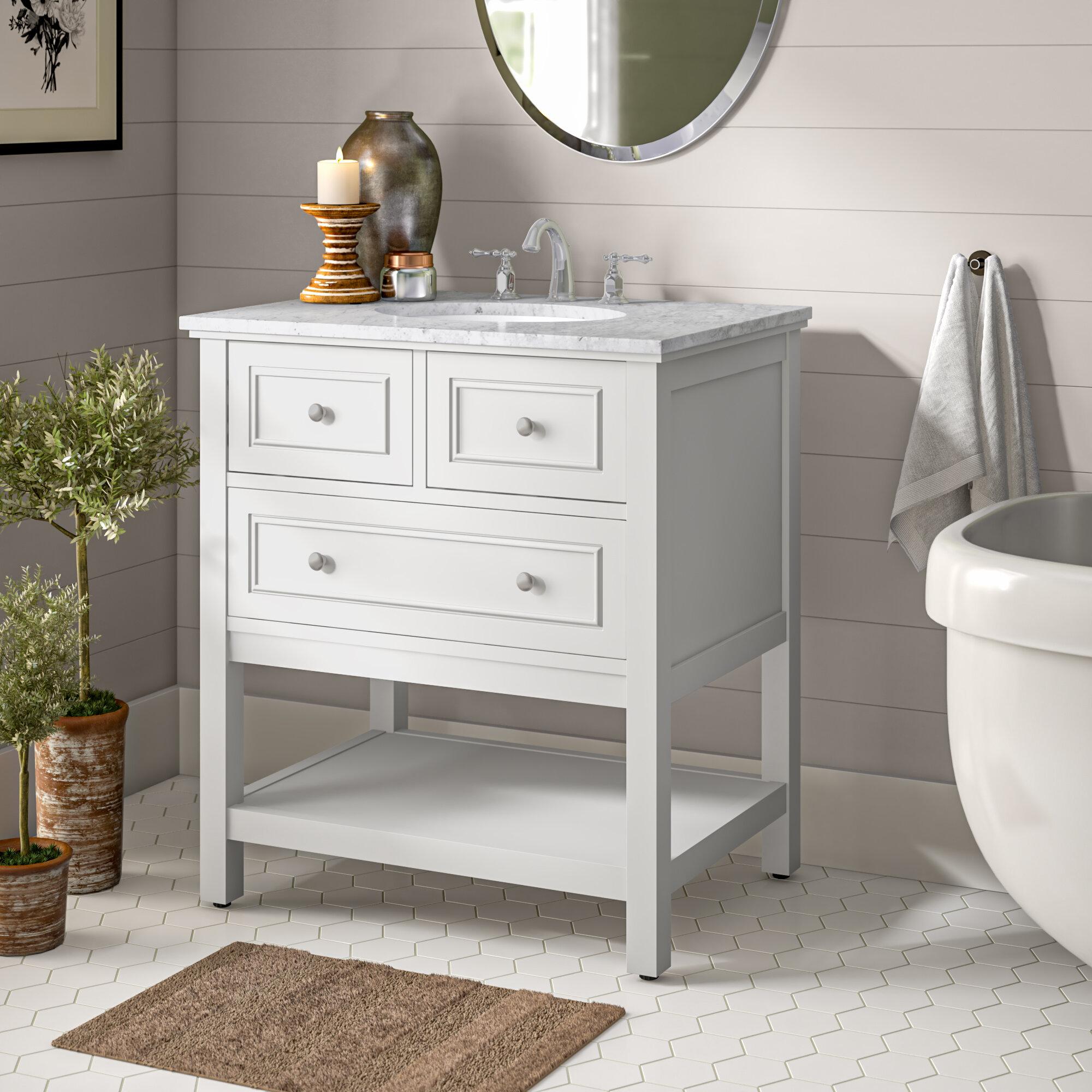 Charlton Home Trimble 30 Single Bathroom Vanity Set Reviews Wayfair