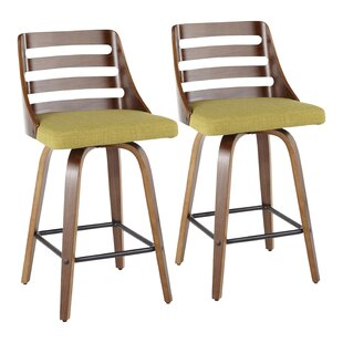 Caesar 25 Swivel Bar Stool (Set Of 2) by Corrigan Studio Cheap
