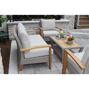 Patio Furniture Sets Birch Lane - Teak deep seating patio furniture