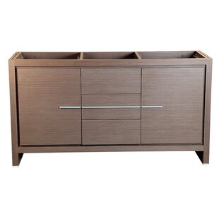 Buying Allier 60 Double Bathroom Vanity Base Only ByFresca