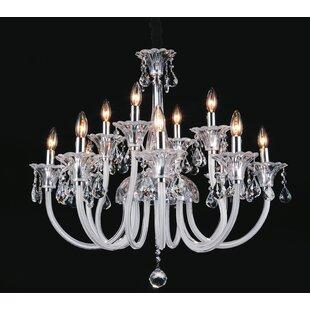Price comparison Waris 12-Light Chandelier By Astoria Grand