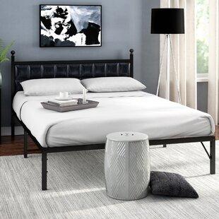 Darlane Steel Platform Bed Frame