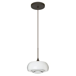 Besa Lighting Focus 1-Light Drum Pendant
