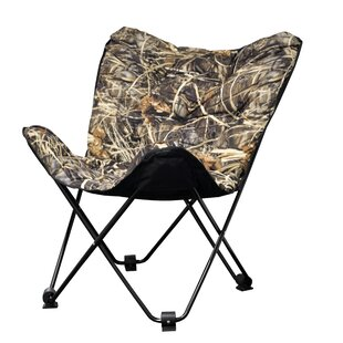 Asha Camouflage Butterfly Papasan Chair by Freeport Park