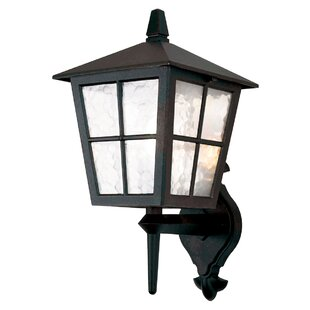 Charlton Home Poppe Up Outdoor Wall Lantern