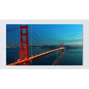 Golden Gate Magnetic Wall Mounted Cork Board By Ebern Designs