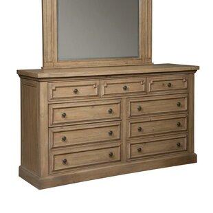 Oakwood 9 Drawer Dresser by Gracie Oaks